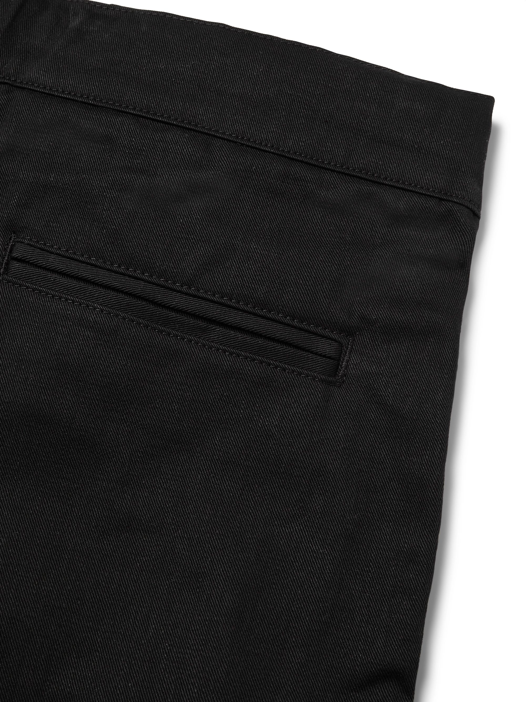 Fear of God Belted Pleated Cotton-Twill Cargo Trousers