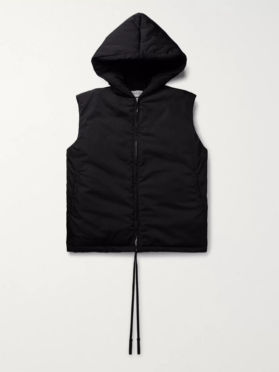 Fear of God Padded Nylon Hooded Gilet