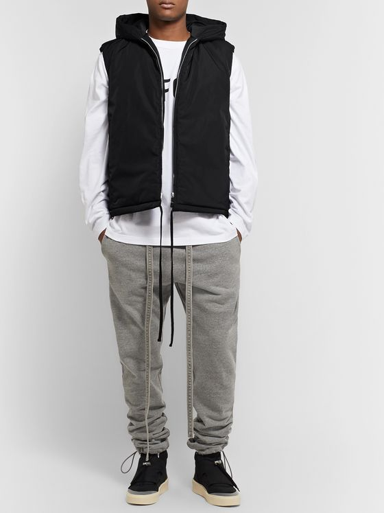 Fear of God Nylon Hooded Gilet