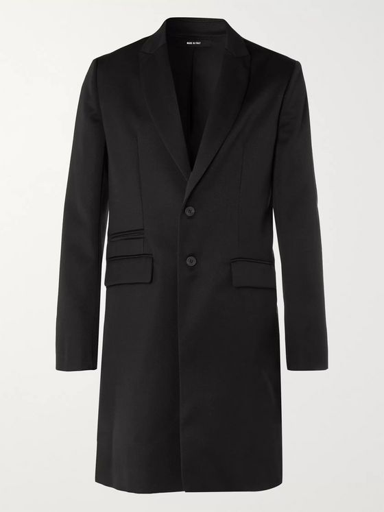 Isabel Benenato Slim-Fit Virgin Wool-Twill Coat
