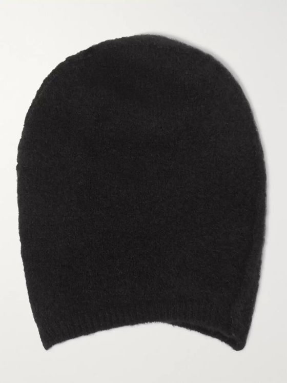 Isabel Benenato Brushed Merino Wool-Blend Beanie