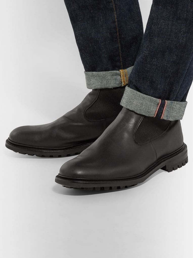 Tricker's Stephen Leather Chelsea Boots