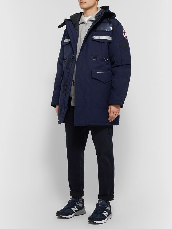 Junya Watanabe + Canada Goose Reflective-Trimmed Shell Down Coat