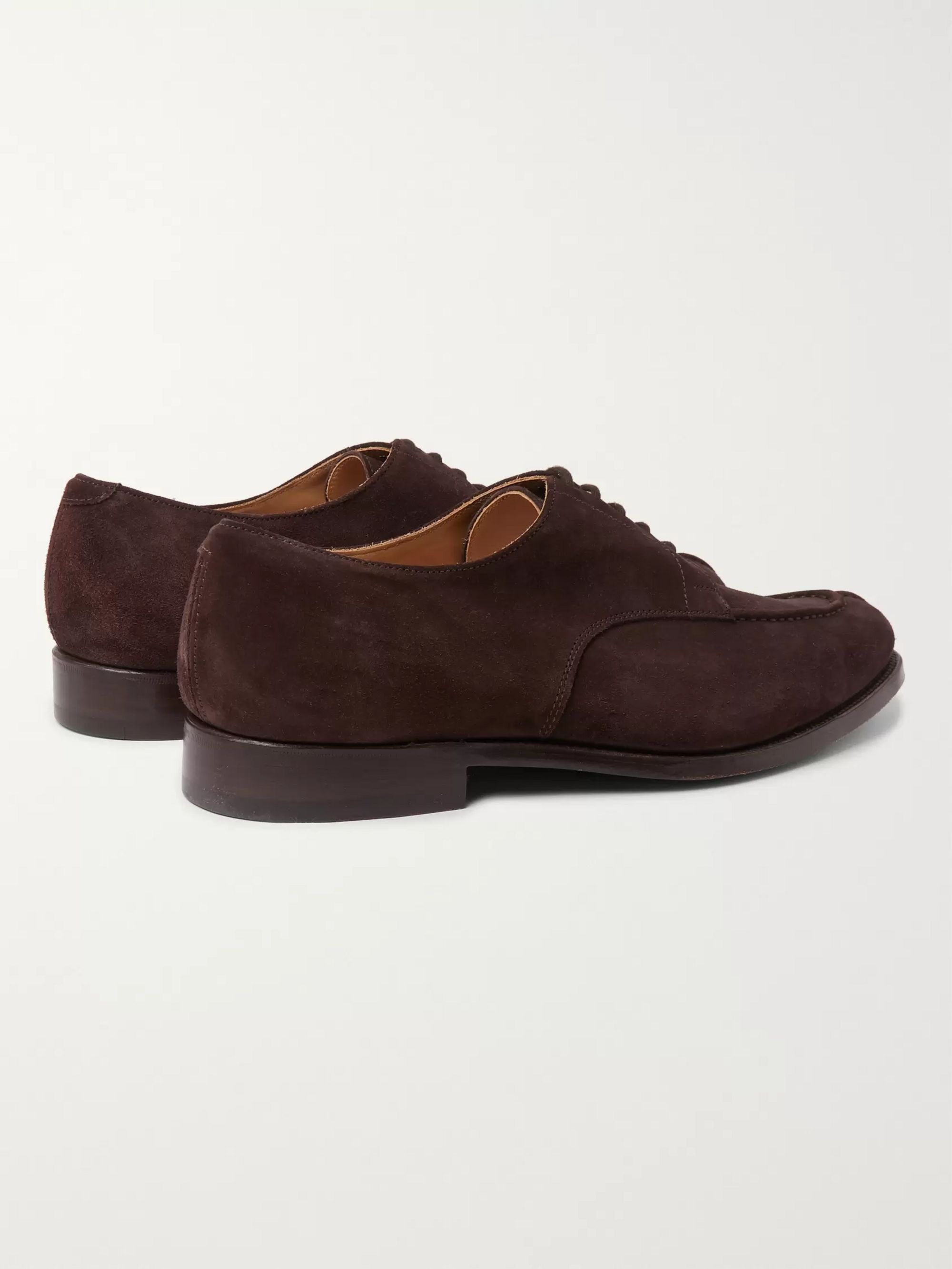 Tricker's Abingdon Suede Derby Shoes
