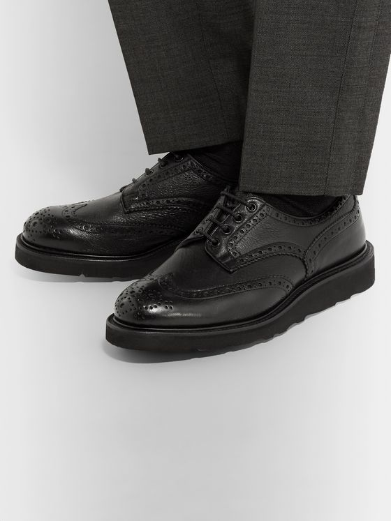 Tricker's Bourton Full-Grain Leather Brogues