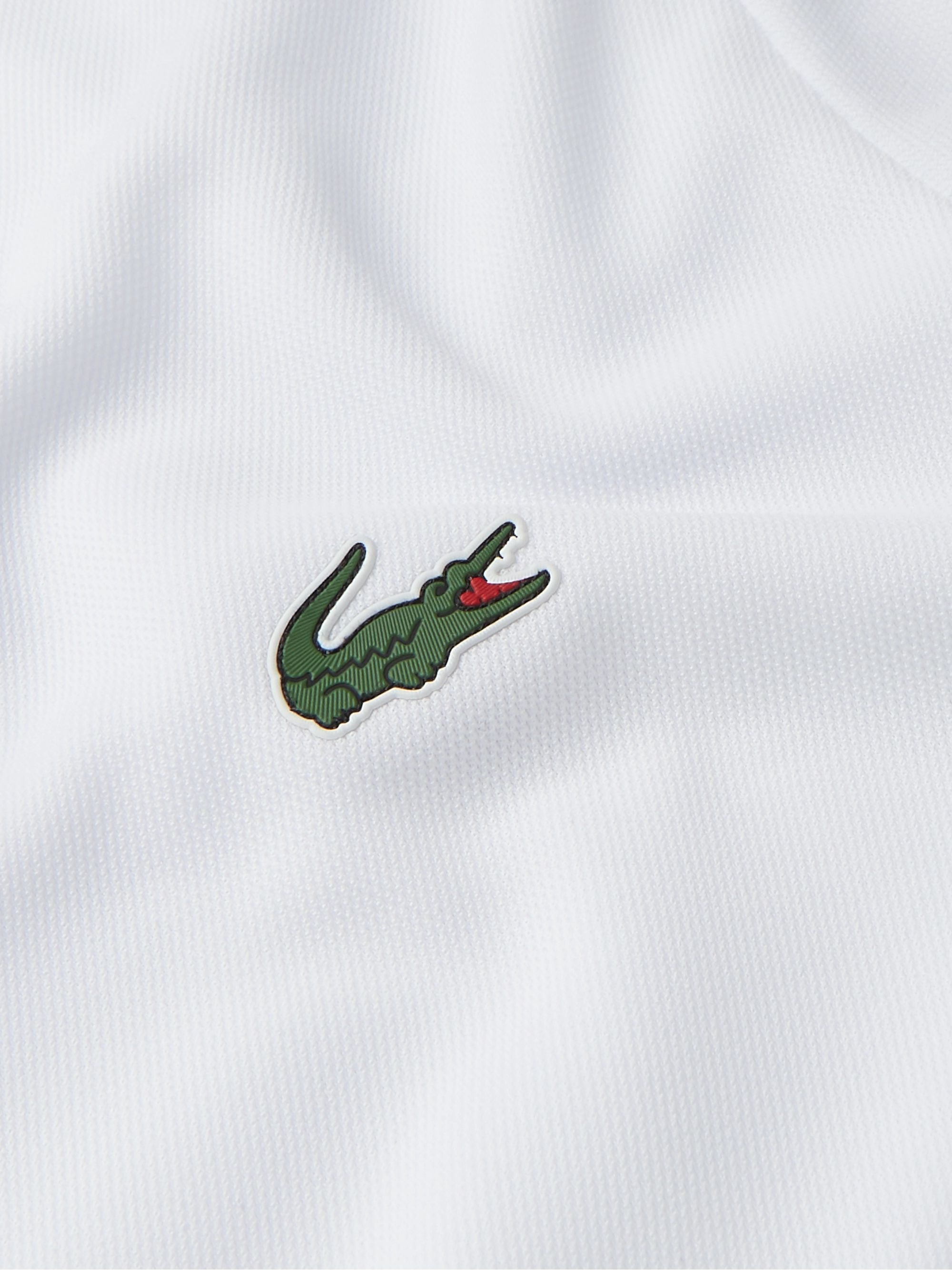Lacoste Tennis Stretch Tech-Piqué Tennis Polo Shirt