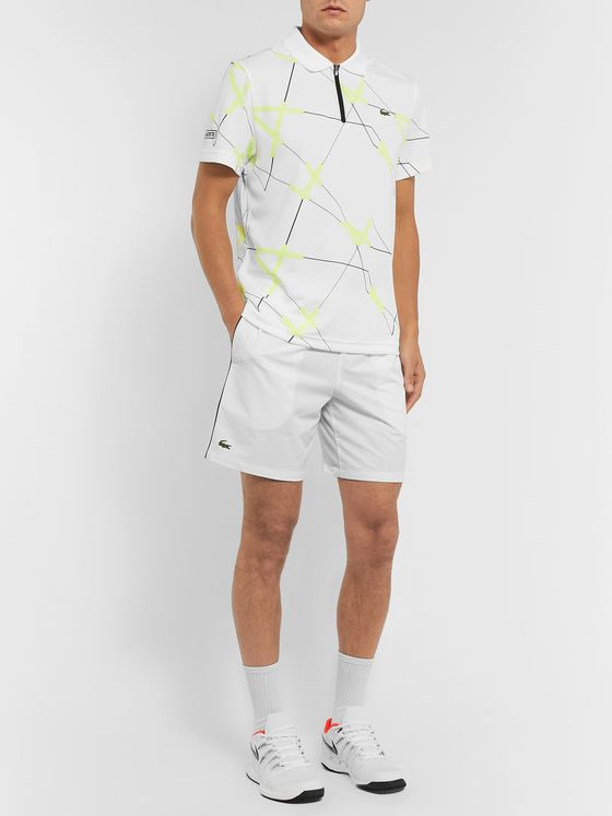 Lacoste Tennis Novak Djokovic Stretch-Shell Tennis Shorts