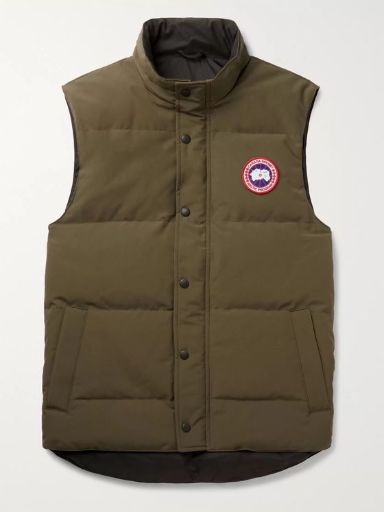 CANADA GOOSE Garson Slim-Fit Quilted Arctic Tech Down Gilet