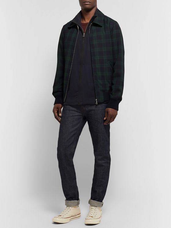 James Perse Supima Cotton-Jersey Zip-Up Sweater