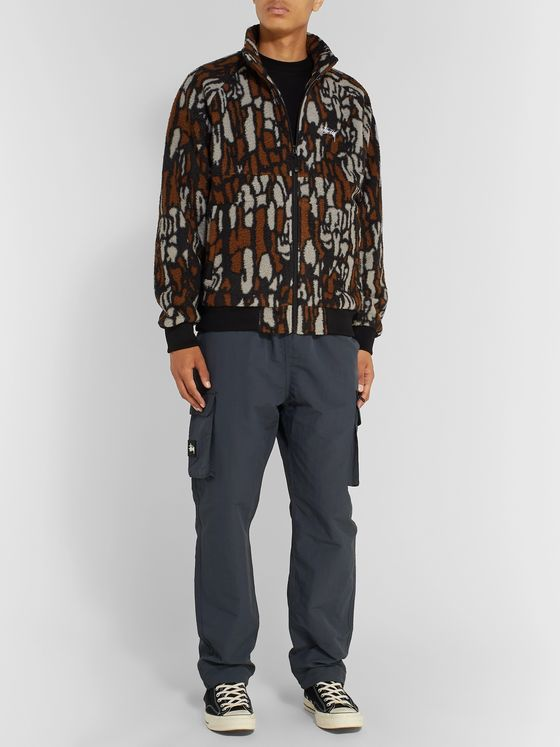 Stüssy Printed Fleece Jacket