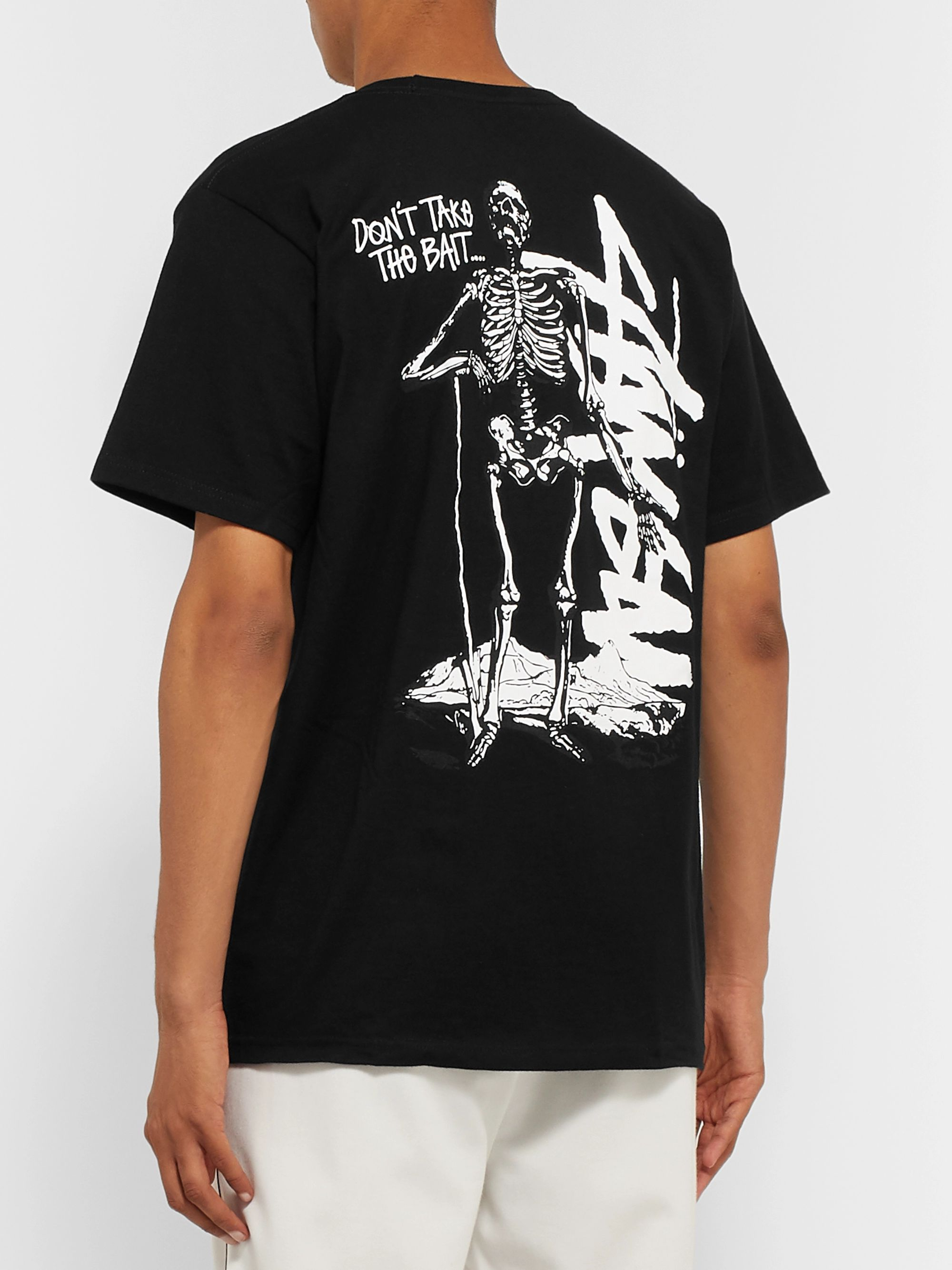 Stüssy Slim-Fit Printed Cotton-Jersey T-Shirt