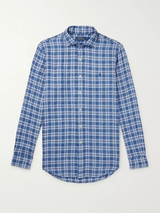 Polo Ralph Lauren Checked Linen Shirt