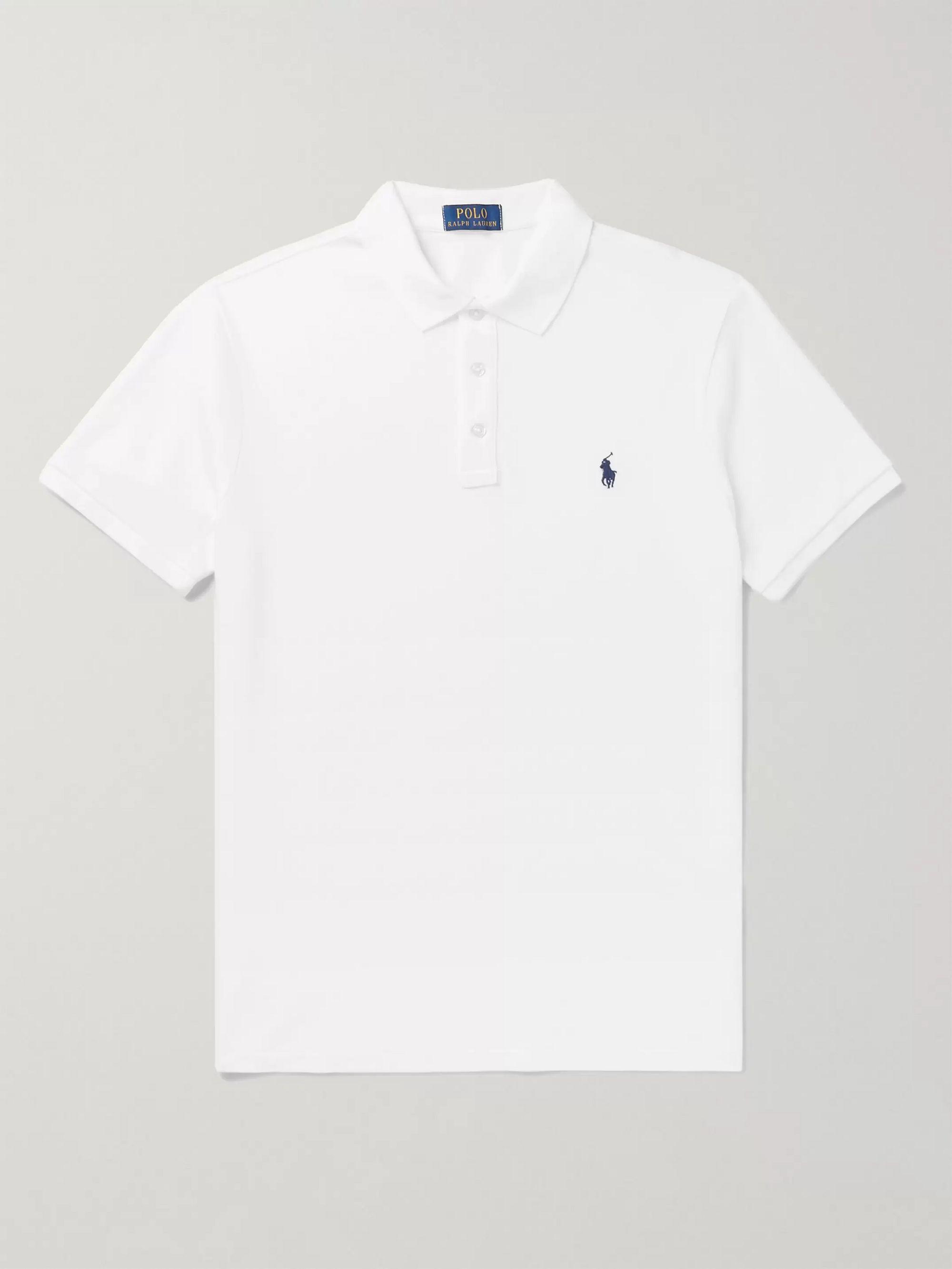 huge discount 234a5 ba94b Slim-Fit Cotton-Terry Polo Shirt
