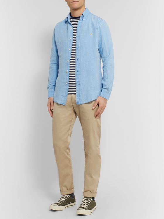 Polo Ralph Lauren Button-Down Collar Linen Shirt