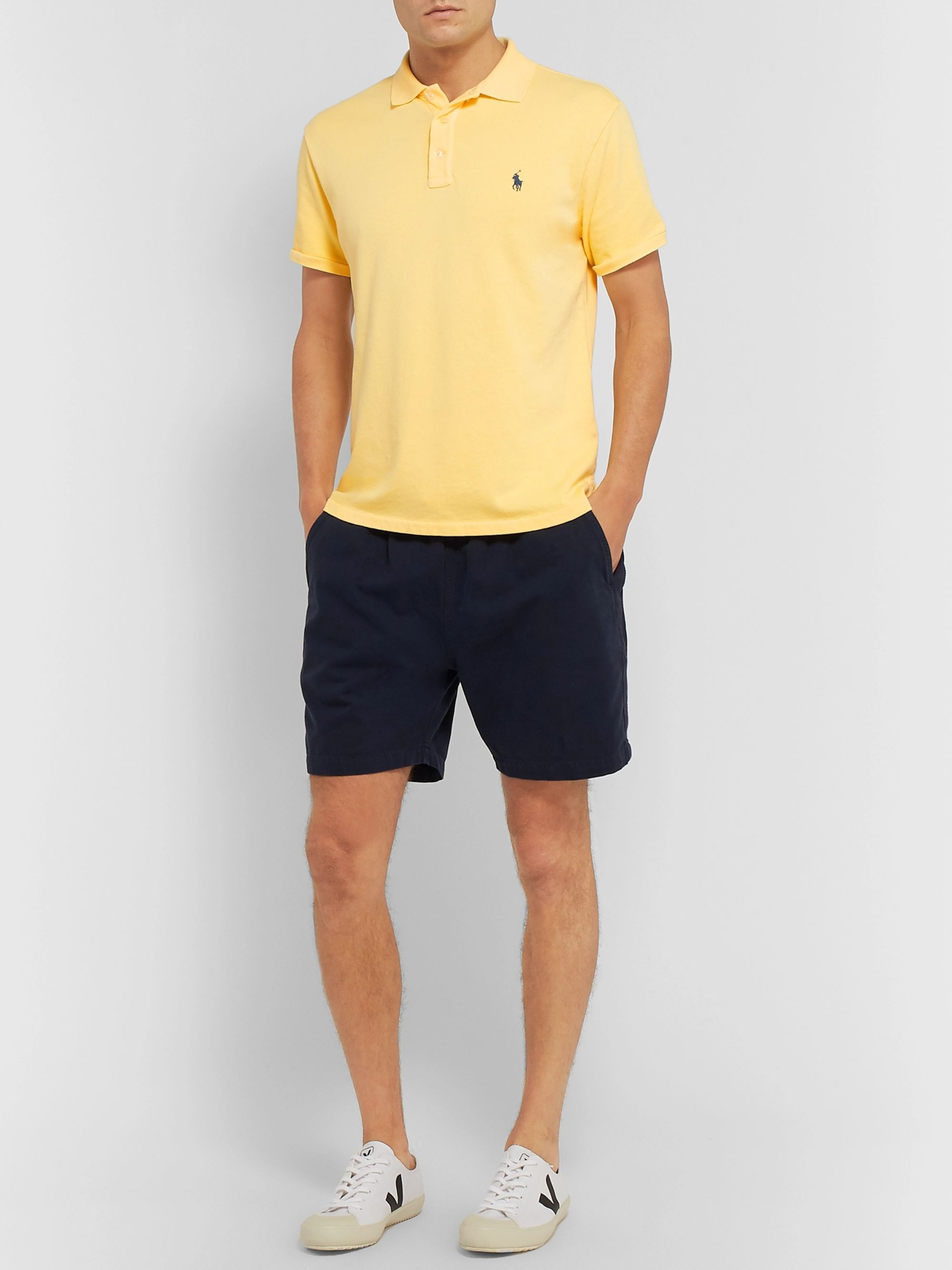 Polo Ralph Lauren Slim-Fit Cotton-Terry Polo Shirt