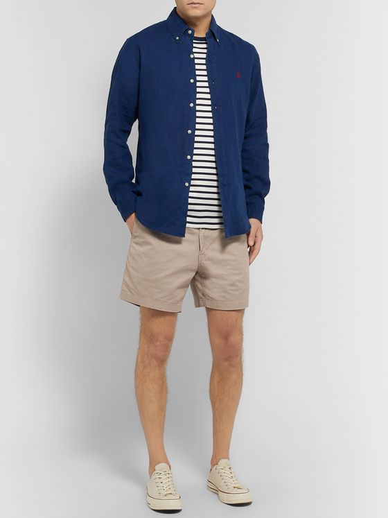 Polo Ralph Lauren Stretch Cotton-Twill Shorts