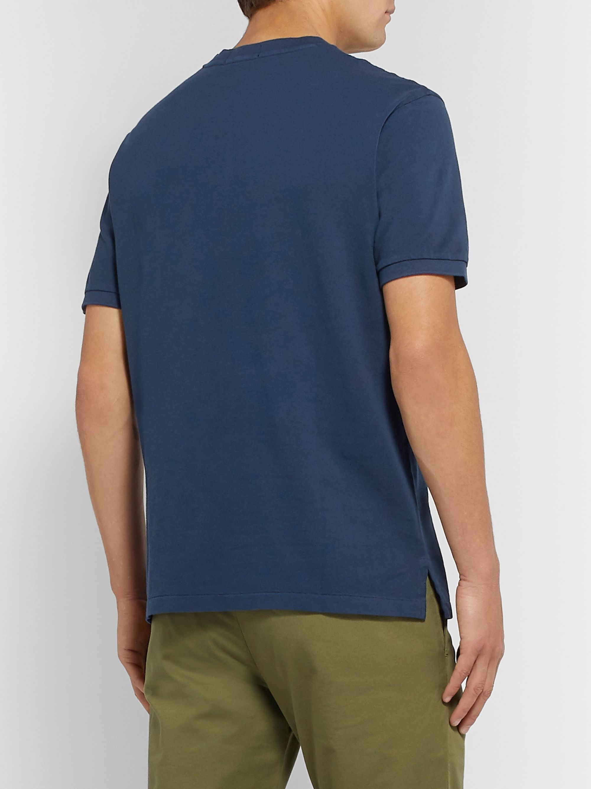 Polo Ralph Lauren Slim-Fit Cotton-Piqué Henley T-Shirt