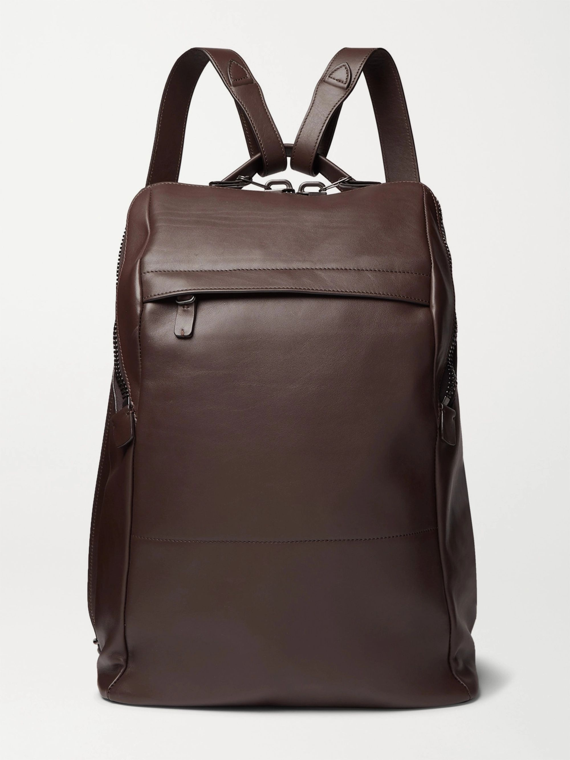Álvaro Agape Leather Backpack