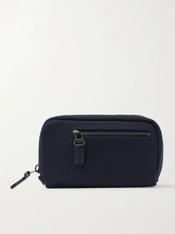 Álvaro Canvas Wash Bag