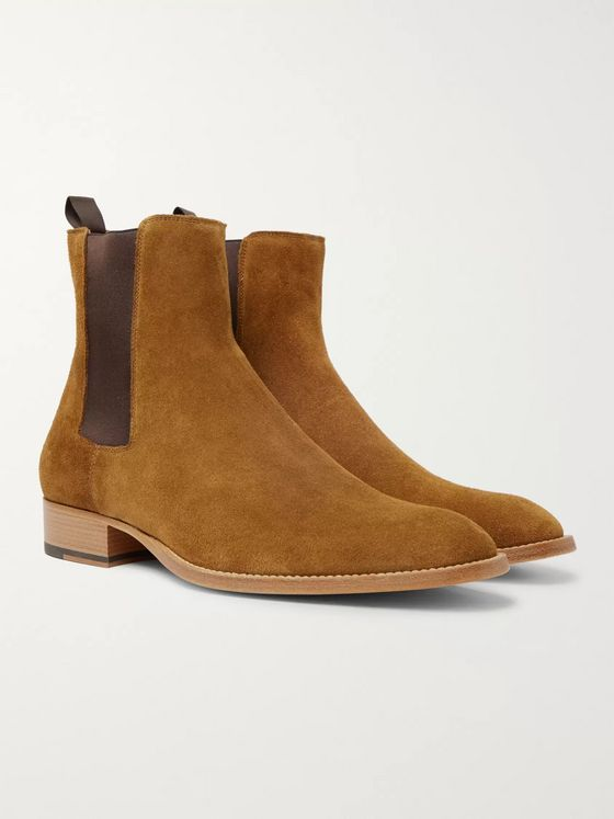 Sandro Suede Chelsea Boots