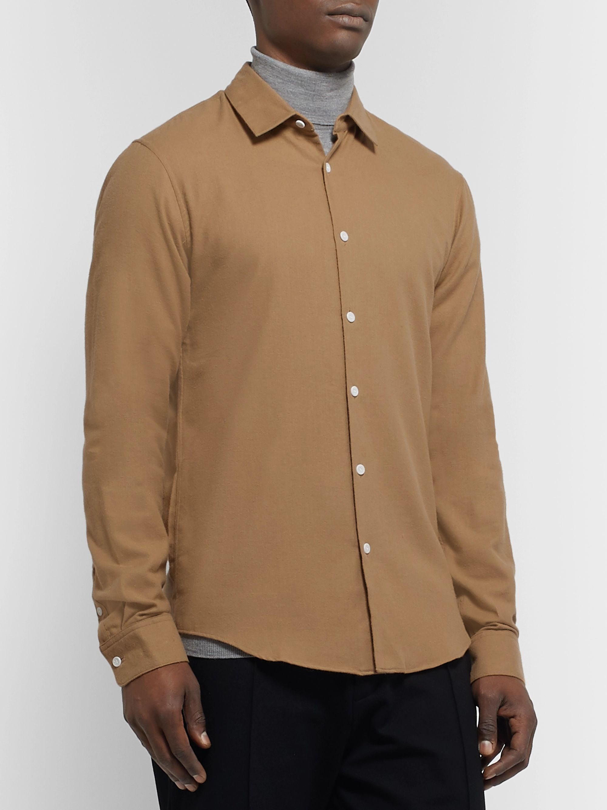 Sandro Cotton-Flannel Shirt