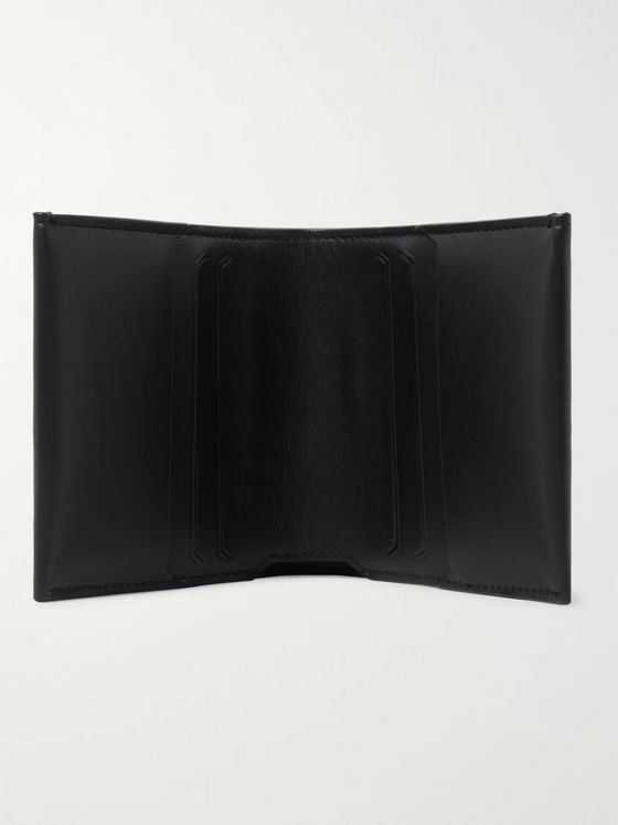 Bottega Veneta Debossed Leather Billfold Wallet
