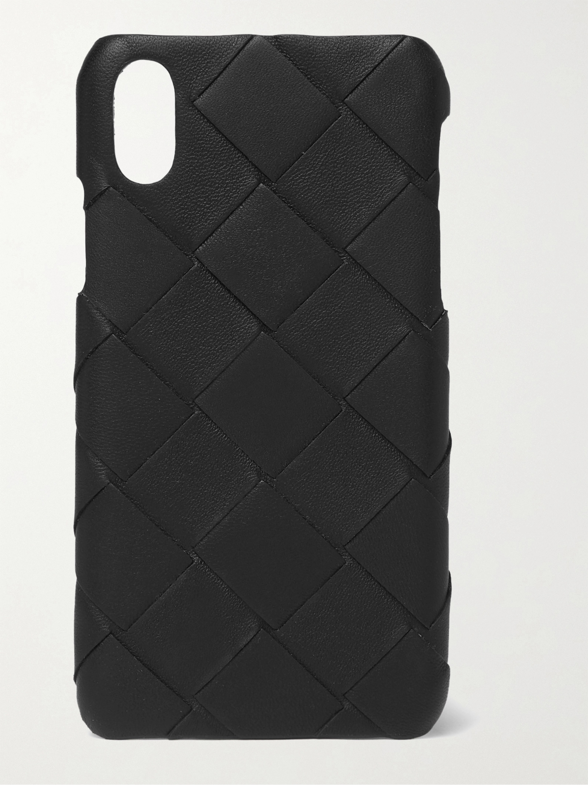 Bottega Veneta Intrecciato Leather iPhone X Case