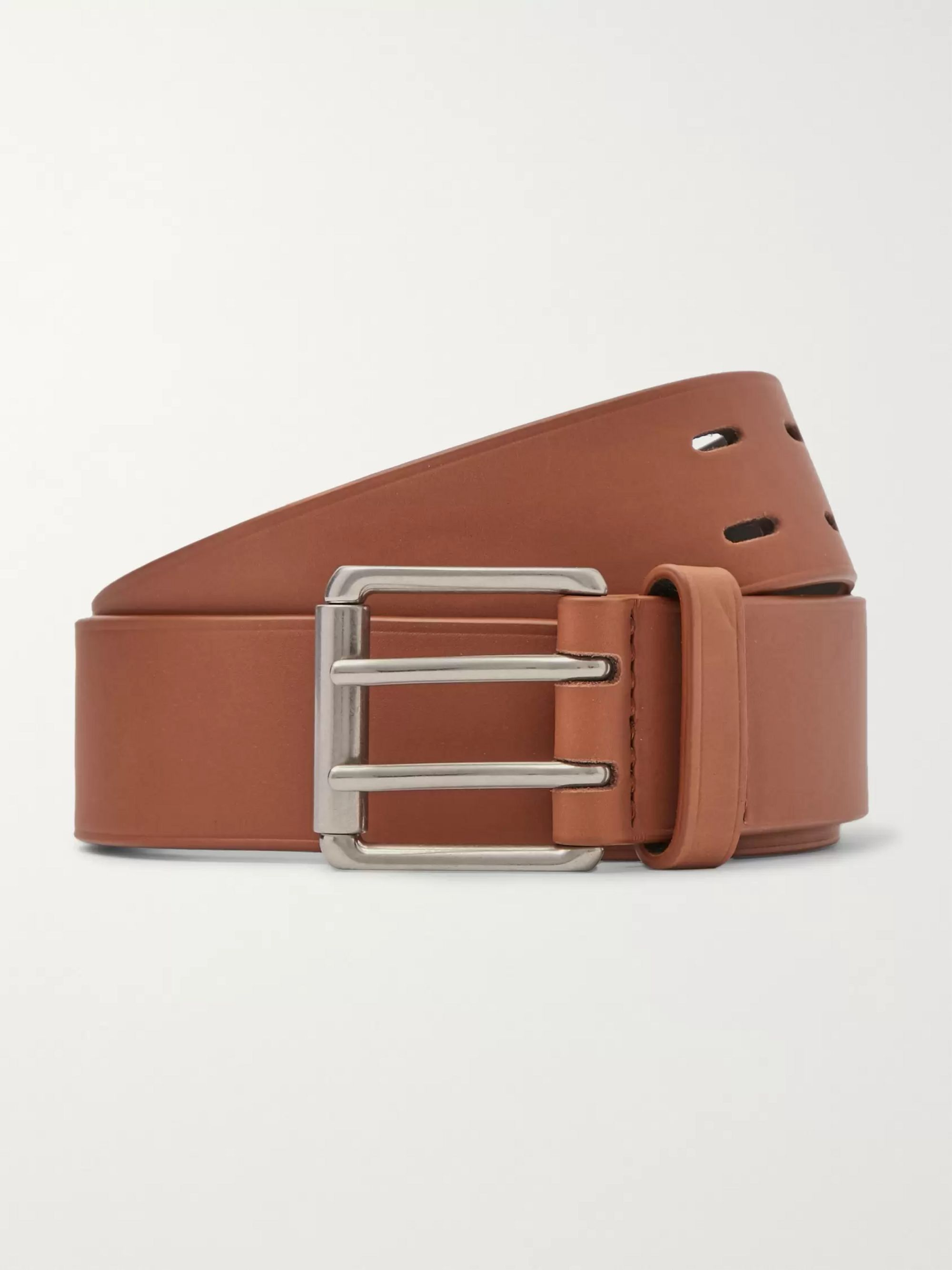 Bottega Veneta 3.5cm Tan Leather Belt