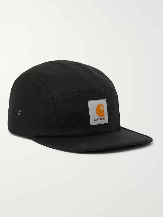 Carhartt WIP Logo-Appliquéd Cotton-Canvas Baseball Cap