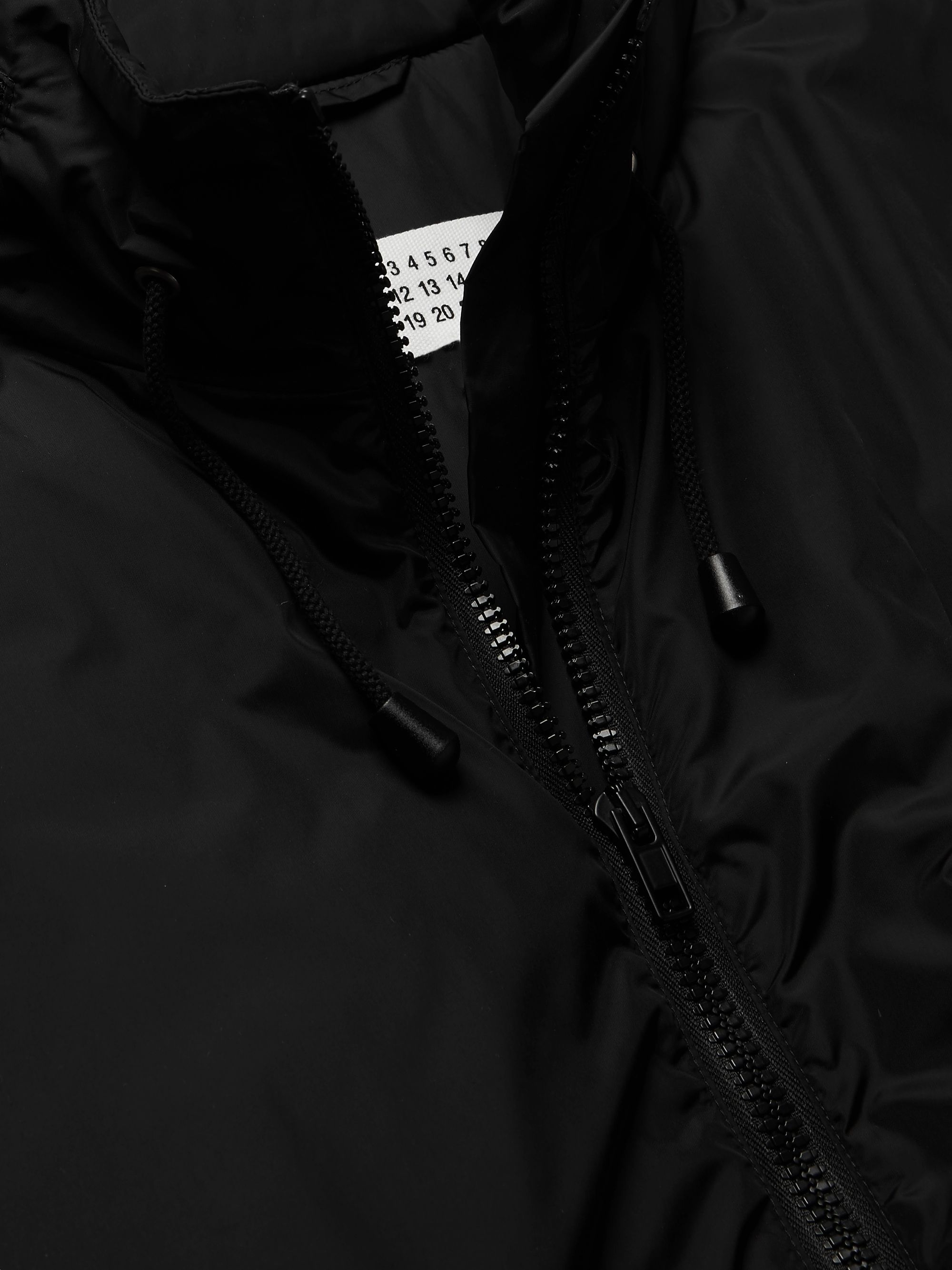 Maison Margiela Oversized Padded Shell Hooded Parka