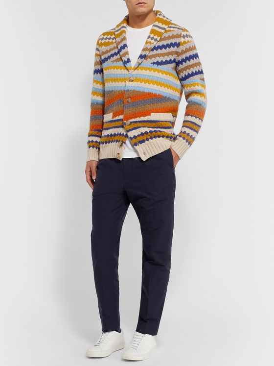 Missoni Shawl-Collar Wool Cardigan