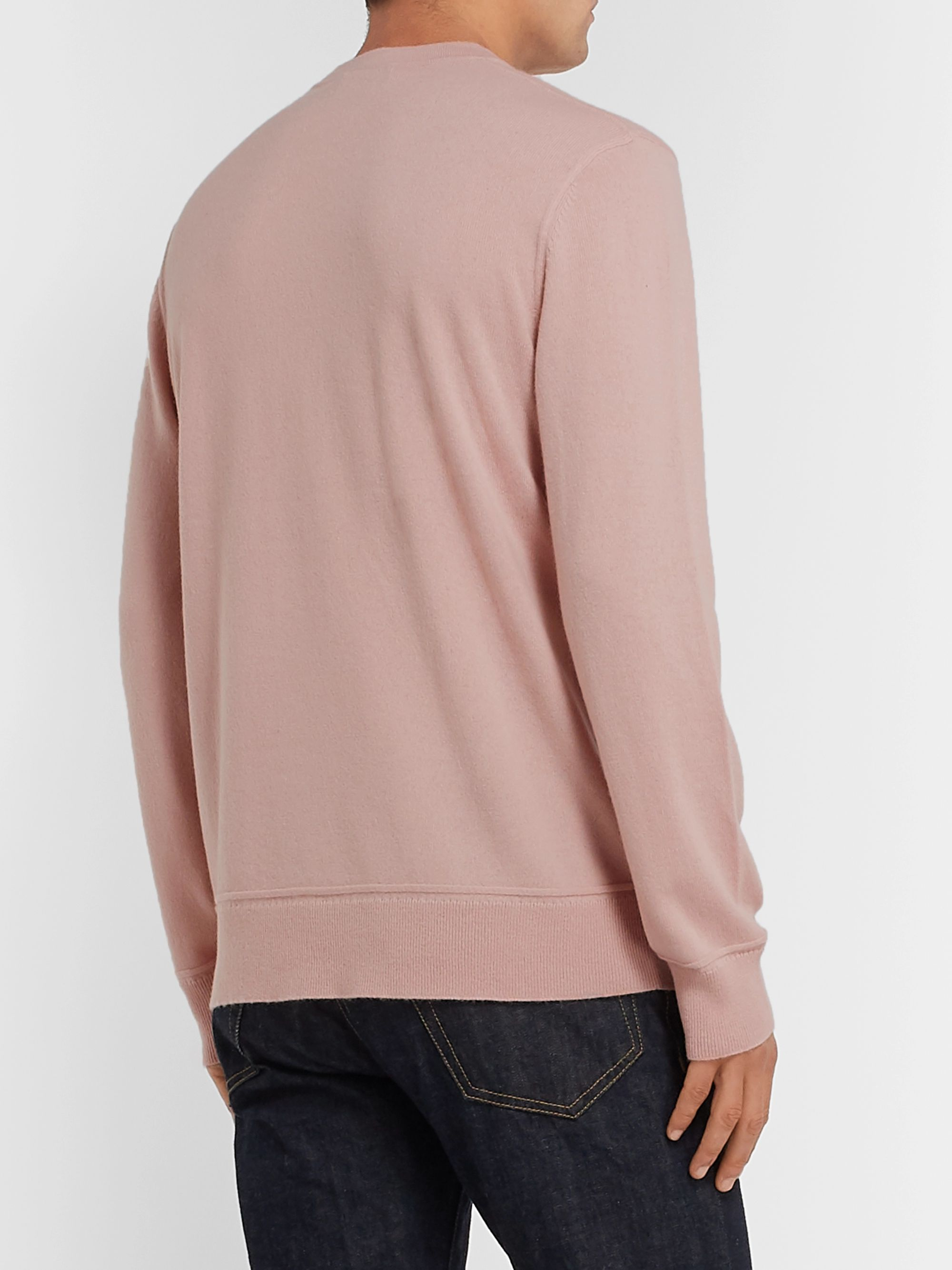 Theory Hills Mélange Cashmere Sweater