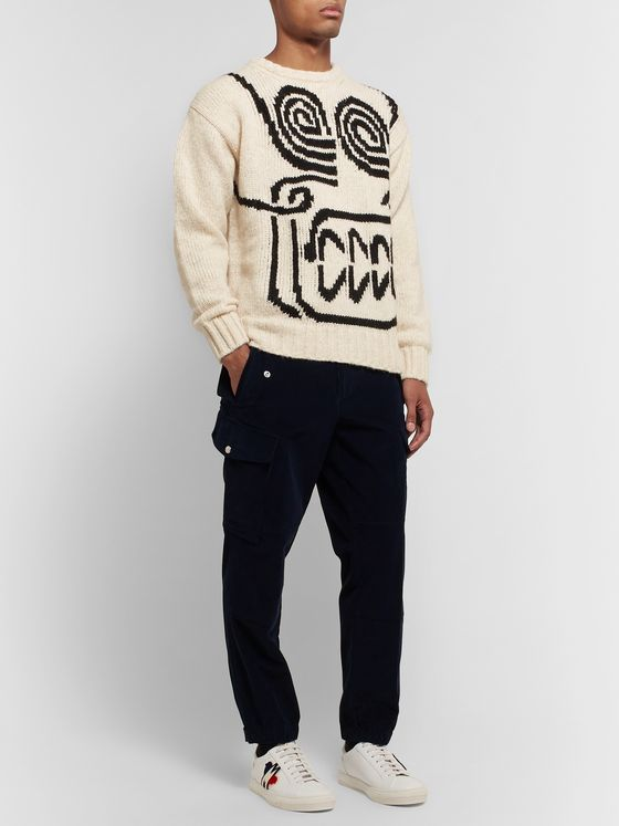 Moncler Genius 2 Moncler 1952 Intarsia Knitted Sweater