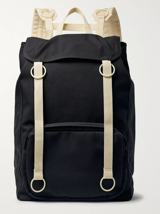 Raf Simons + Eastpak Webbing-Trimmed Canvas Backpack