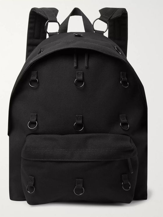 Raf Simons + Eastpak Padded Pak'r Embellished Canvas Backpack