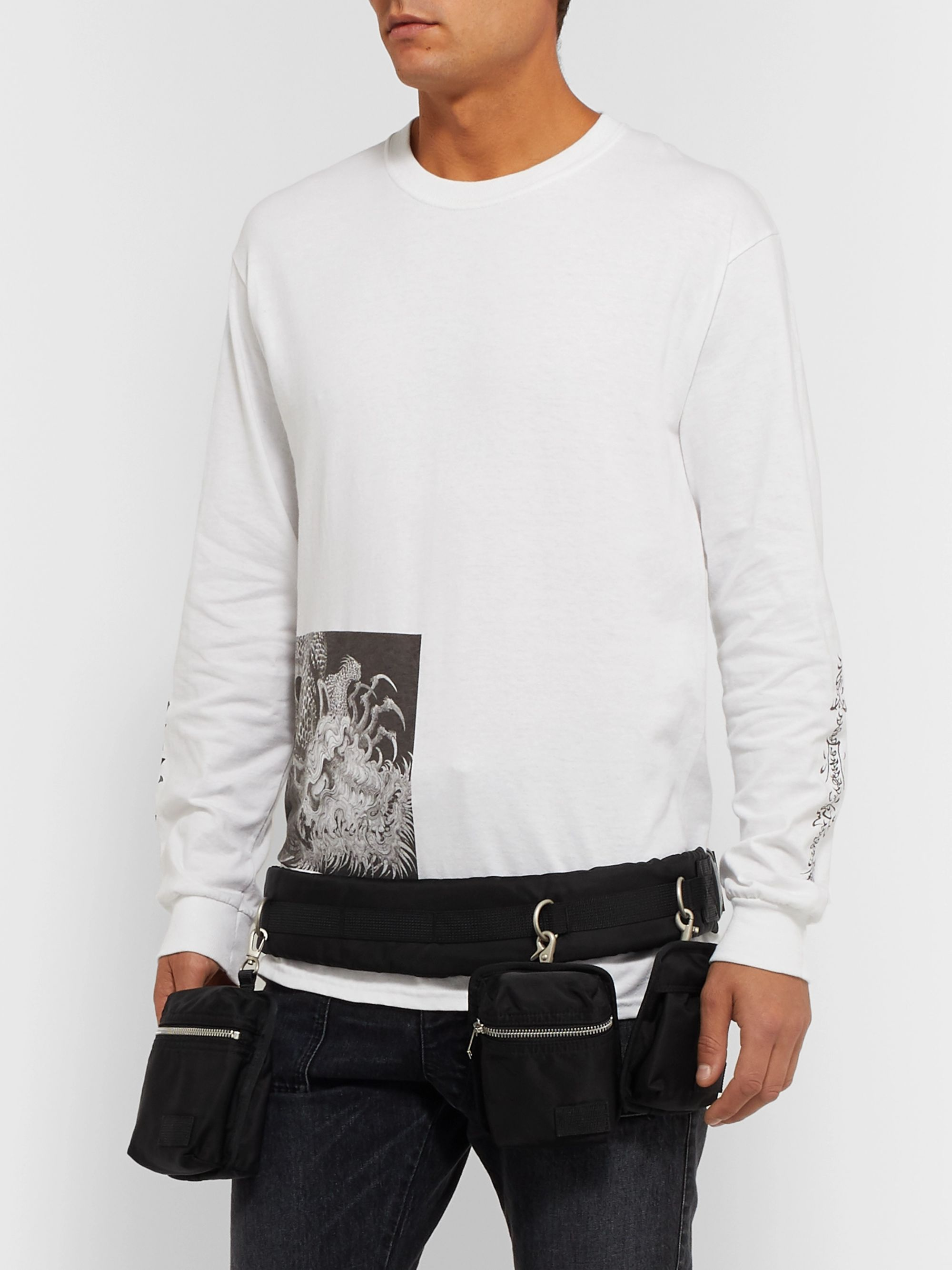 Sacai Shell Belt Bag