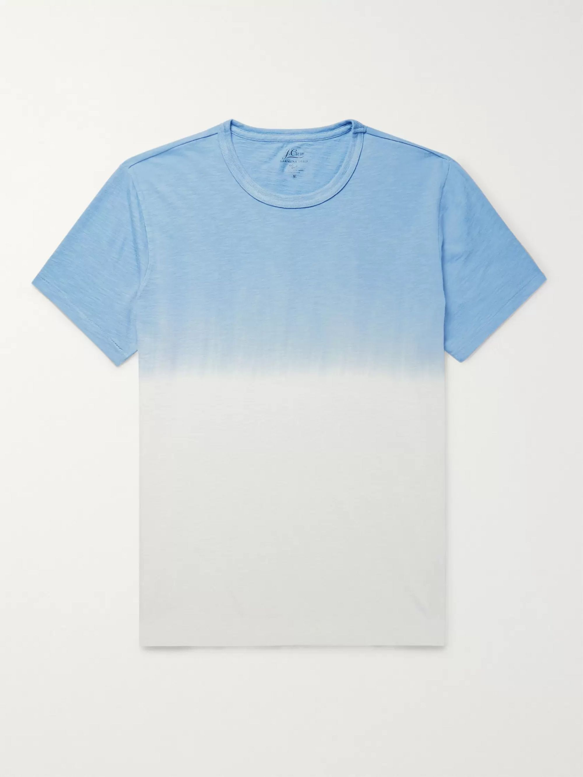J.Crew Dip-Dyed Slub Cotton-Jersey T-Shirt