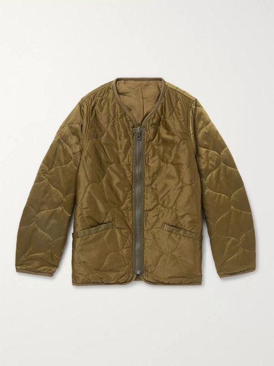 visvim Iris Quilted Nylon-Shell Jacket