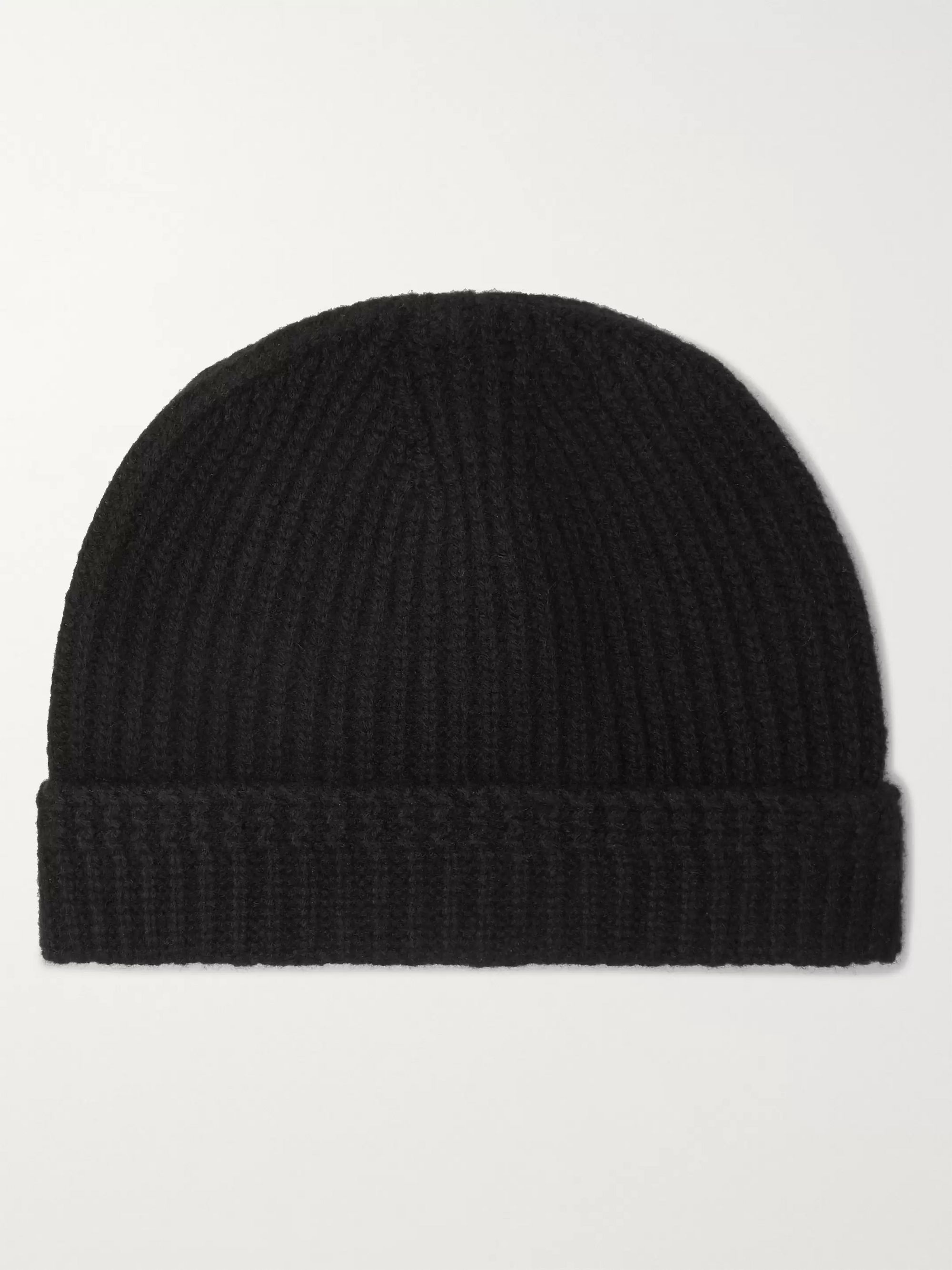 visvim Appliquéd Ribbed Wool Beanie