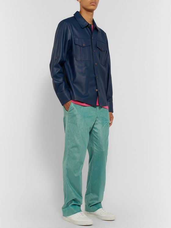 Sies Marjan Toby Cotton-Blend Corduroy Trousers