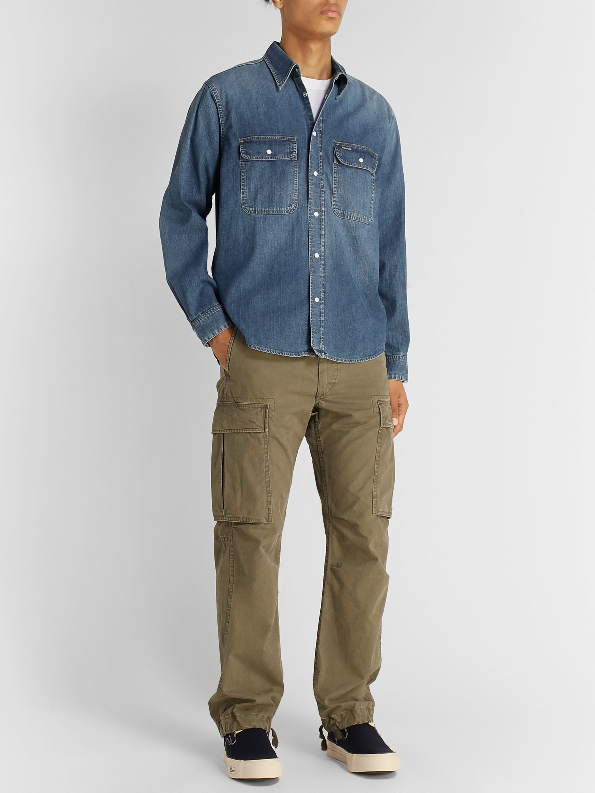 visvim Denim Western Shirt