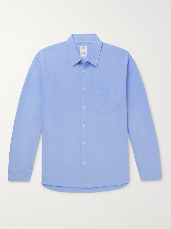 visvim Albacore Enthusiast Embroidered Cotton Shirt