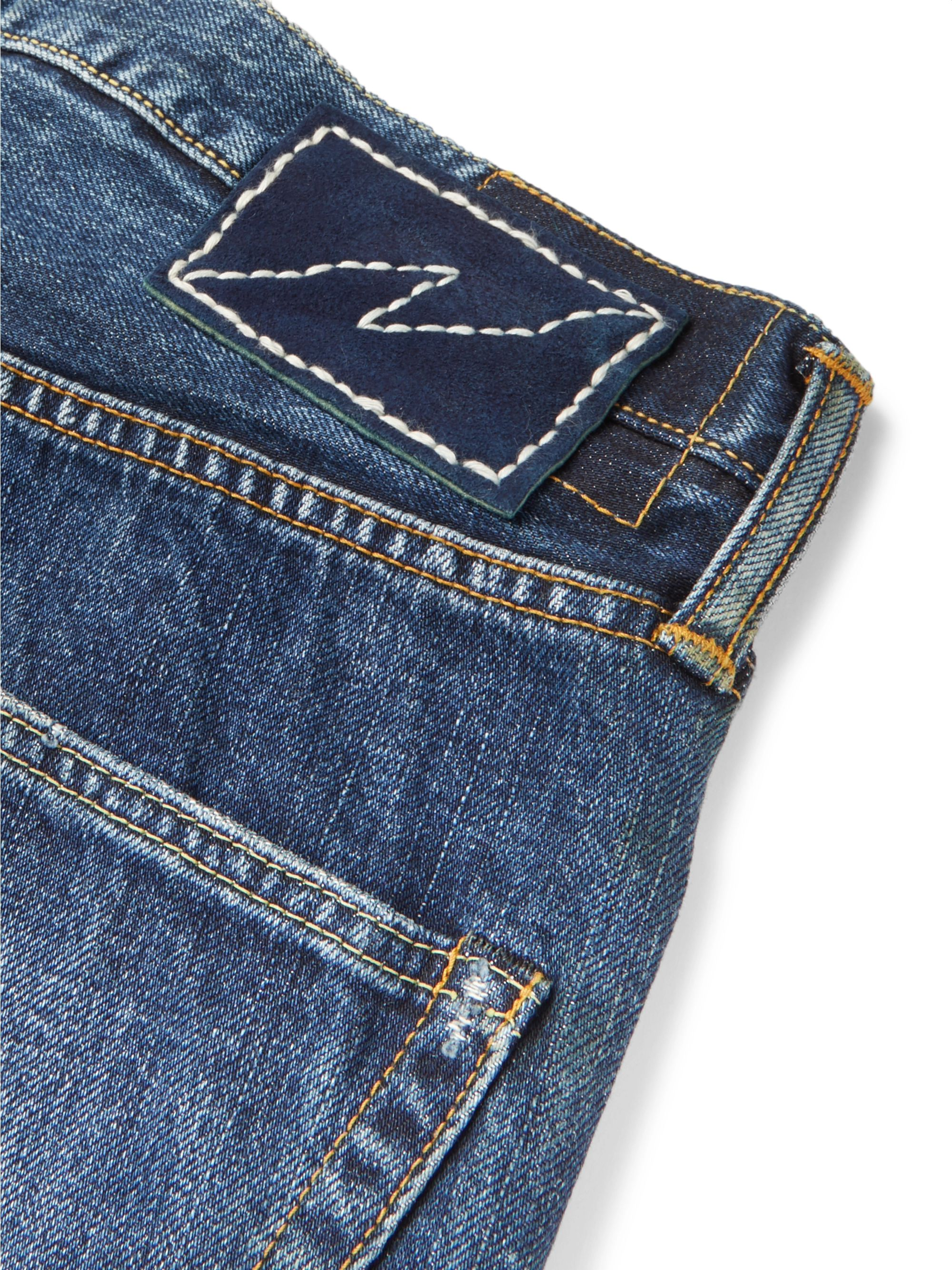 visvim Social Sculpture 3 Dry Denim Jeans