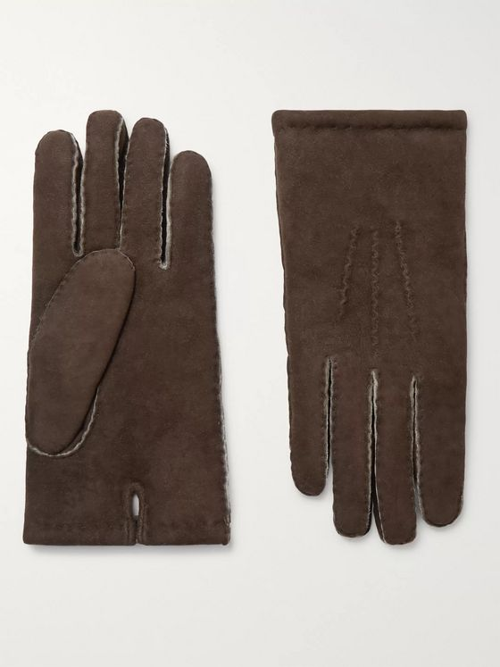 Dents Shearling Gloves