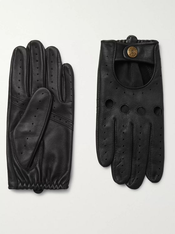 Dents Silverstone Touchscreen Leather Driving Gloves