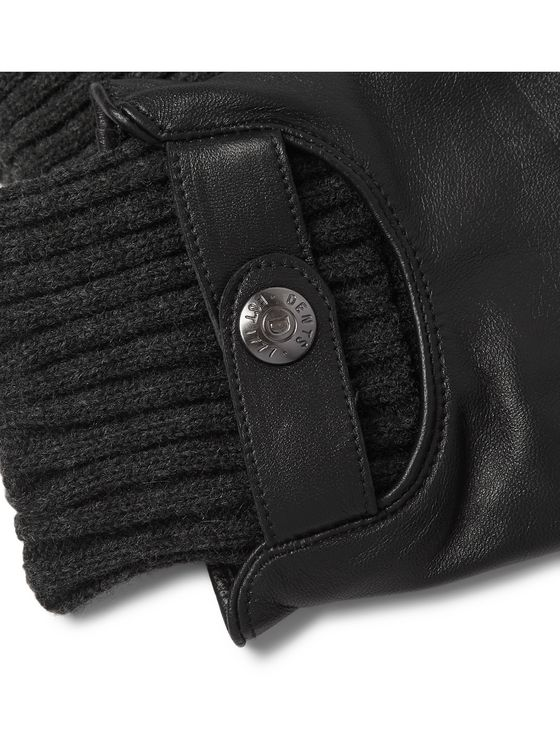 DENTS Buxton Touchscreen Leather Gloves