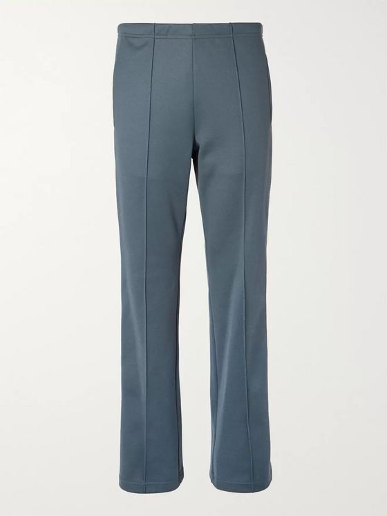Maison Margiela Slim-Fit Satin-Trimmed Tech-Jersey Track Pants