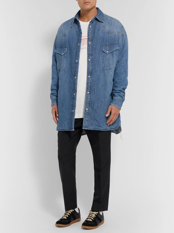 Maison Margiela Oversized Padded Denim Overshirt