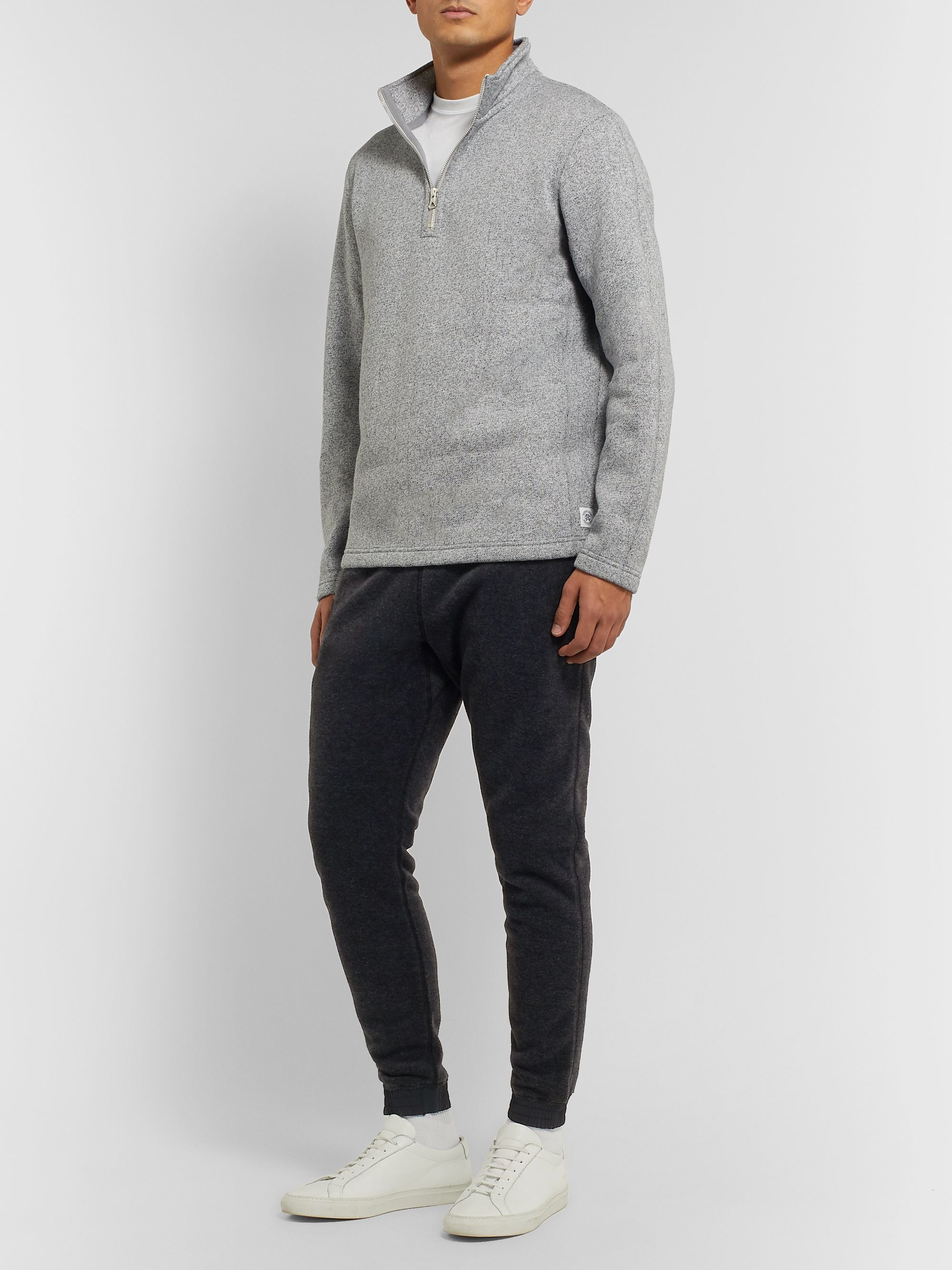 Reigning Champ Nylon-Trimmed Polartec Fleece Drawstring Trousers