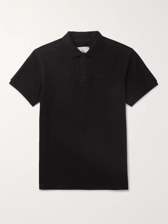 Reigning Champ Cotton-Pique Polo Shirt